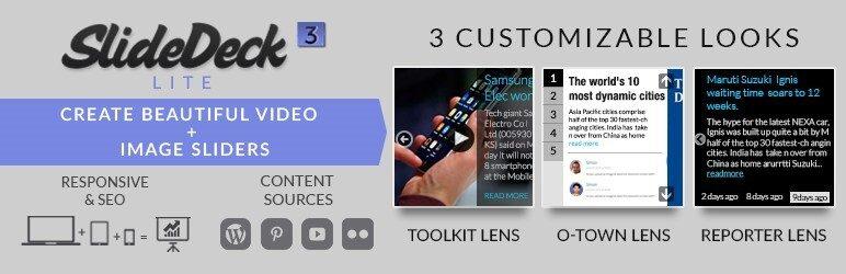 ایجاد اسلایدر در وردپرس با افزونه SlideDeck
