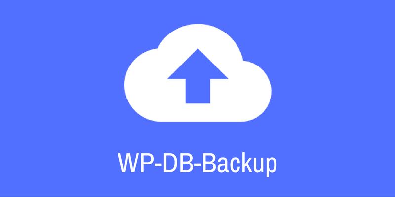 تهیه بکاپ از دیتابیس وردپرس با افزونه WP-DB-Backup
