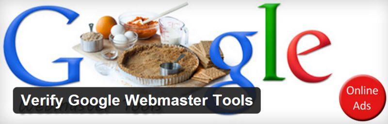 تایید کد گوگل وبمستر تولز در وردپرس با افزونه Google Webmaster Tools Verification