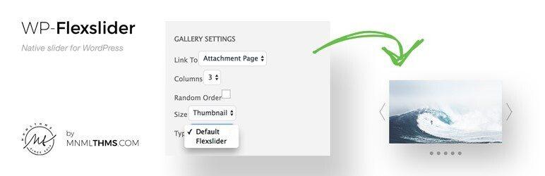 ایجاد اسلایدر در وردپرس با افزونه WP Flexslider