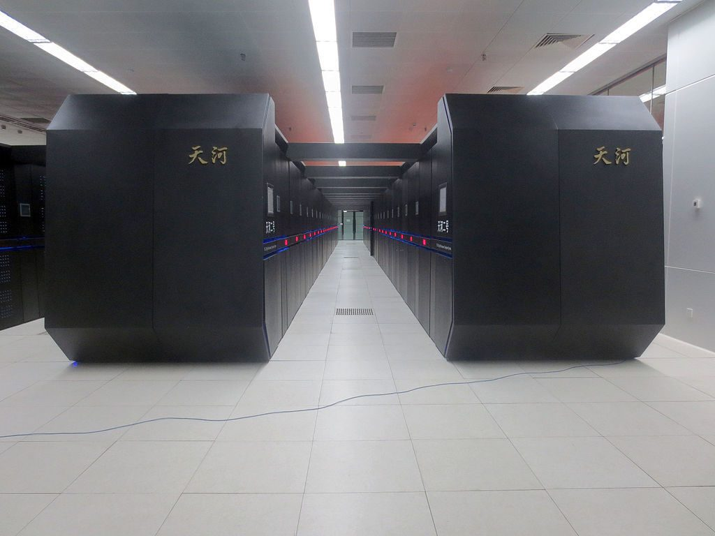 یک نمونه ابر کامپیوتر