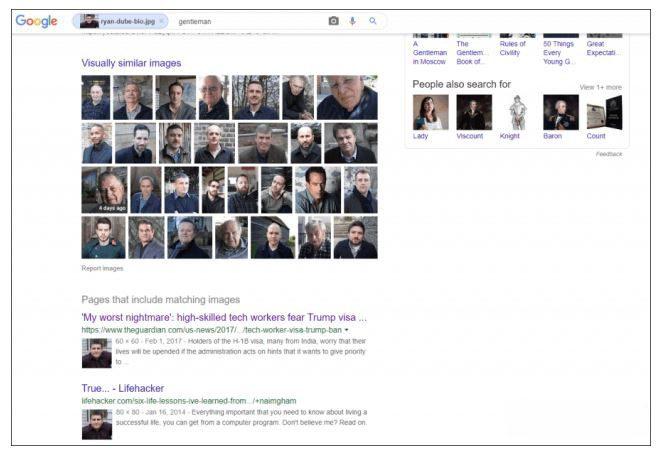 Google Face Search